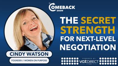 The Secret Strength For Next-level Negotiation