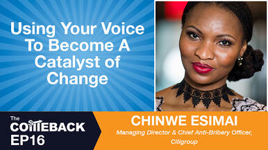 Using Your Voice To Become A Catalyst of Change