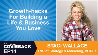 Growth-hacks For Building a Life & Business You Love